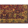 "Timeless Rectangle Rug By, Scarlet, 7'9"" X 9'9"""