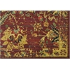 "Nourison Timeless Rectangle Rug  By Nourison, Pomegranate, 7'9"" X 9'9"""