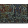 "Nourison Timeless Rectangle Rug  By Nourison, Turquoise, 7'9"" X 9'9"""