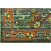 "Nourison Timeless Rectangle Rug  By Nourison, Seaglass, 7'9"" X 9'9"""