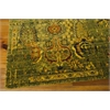 "Nourison Timeless Rectangle Rug  By Nourison, Green Gold, 7'9"" X 9'9"""