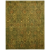 Timeless Green Gold Area Rug