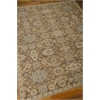 "Nourison Timeless Rectangle Rug  By Nourison, Mocha, 7'9"" X 9'9"""
