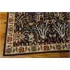 """Nourison Timeless Rectangle Rug  By Nourison, Navy, 7'9"""" X 9'9"""""""