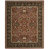 "Nourison Timeless Rectangle Rug  By Nourison, Persimmon, 7'9"" X 9'9"""