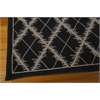 "Nourison Tranquility Rectangle Rug  By Nourison, Black, 5'3"" X 7'5"""