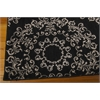 "Tranquility Rectangle Rug By, Black, 5'3"" X 7'5"""