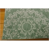 "Tranquility Rectangle Rug By, Light Green, 5'3"" X 7'5"""