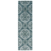 "Nourison Tranquility Runner Rug  By Nourison, Aqua, 2'2"" X 7'6"""