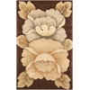 Tropics Brown Area Rug