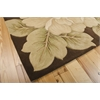 "Tropics Rectangle Rug By, Brown, 5'3"" X 8'3"""