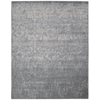 "Nourison Twilight Rectangle Rug  By Nourison, Slate, 7'9"" X 9'9"""