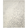 "Nourison Twilight Rectangle Rug  By Nourison, Cream, 7'9"" X 9'9"""