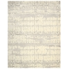 "Nourison Twilight Rectangle Rug  By Nourison, Ivory, 7'9"" X 9'9"""