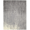 "Nourison Twilight Rectangle Rug  By Nourison, Smoke, 7'9"" X 9'9"""