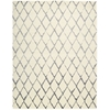 "Nourison Twilight Rectangle Rug  By Nourison, Ivory Grey, 7'9"" X 9'9"""