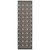 "Ultima Runner Rug By, Ivory Charcoal, 2'2"" X 7'"