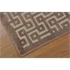"Ultima Rectangle Rug By, Ivory Mocha, 5'3"" X 7'3"""