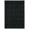 "Nourison Ultima Rectangle Rug  By Nourison, Black, 5'3"" X 7'3"""