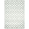 "Ultima Rectangle Rug By, Ivory Aqua, 5'3"" X 7'3"""