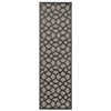 "Ultima Runner Rug By, Silver Grey, 2'2"" X 7'"