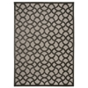"Nourison Ultima Rectangle Rug  By Nourison, Silver Grey, 5'3"" X 7'3"""