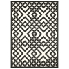"Ultima Rectangle Rug By, Ivory Grey, 5'3"" X 7'3"""