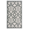 "Ultima Rectangle Rug By, Ivory Aqua, 2'2"" X 3'9"""