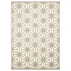 "Nourison Ultima Rectangle Rug  By Nourison, Ivory Silver, 5'3"" X 7'3"""