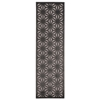"Nourison Ultima Runner Rug  By Nourison, Silver Grey, 2'2"" X 7'"