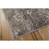 "Utopia Rectangle Rug By, Ivory Slate, 5'3"" X 7'5"""