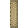 "Vallencierre Runner Rug By, Beige, 2'3"" X 8'"