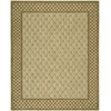 "Vallencierre Rectangle Rug By, Light Green, 7'6"" X 9'6"""