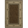 "Nourison Vallencierre Rectangle Rug  By Nourison, Brown, 5'3"" X 8'3"""