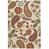 Vista Rectangle Rug By, Ivory, 4' X 6'