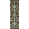 "Nourison Vista Runner Rug  By Nourison, Chocolate, 2'6"" X 8'"