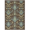 Nourison Vista Rectangle Rug  By Nourison, Chocolate, 4' X 6'