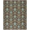 Vista Rectangle Rug By, Chocolate, 8' X 10'