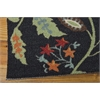 Vista Rectangle Rug By, Black, 5' X 7'