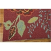 Vista Rectangle Rug By, Brick, 5' X 7'