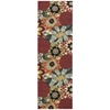 "Nourison Vista Runner Rug  By Nourison, Multicolor, 2'6"" X 8'"