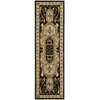 "Versailles Palace Runner Rug By, Black, 2'3"" X 8'"