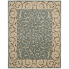 "Nourison Versailles Palace Rectangle Rug  By Nourison, Aqua, 7'6"" X 9'6"""