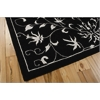 "Versailles Palace Rectangle Rug By, Black White, 5'3"" X 8'3"""