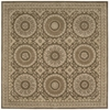 Versailles Palace Square Rug By, Mocha, 8' X 8'