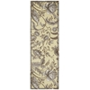 "Wav05 Artisanal Delight Runner Rug By, Ironstone, 2'6"" X 8'"