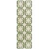 """Nourison Wav05 Artisanal Delight Runner Rug  By Nourison, Leaf, 2'6"""" X 8'"""
