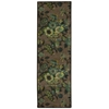 "Wav05 Artisanal Delight Runner Rug By, Blue Jay, 2'6"" X 8'"