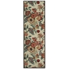 "Wav05 Artisanal Delight Runner Rug By, Poppy, 2'6"" X 8'"