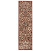 "Walden Runner Rug By, Brick, 2'2"" X 7'6"""